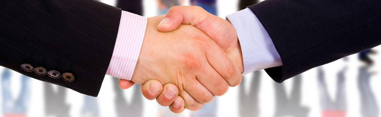 Banner Image of handshaking